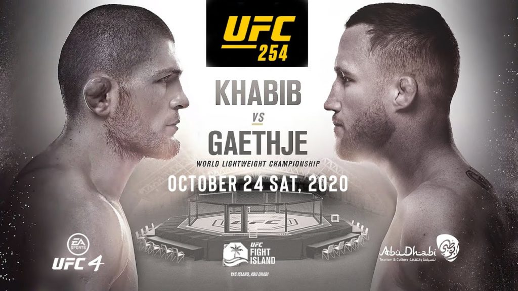 UFC 254 Хабиб - Гэтжи