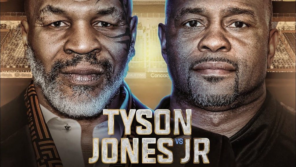 Тайсон - Джонс бой 28 ноября 2020