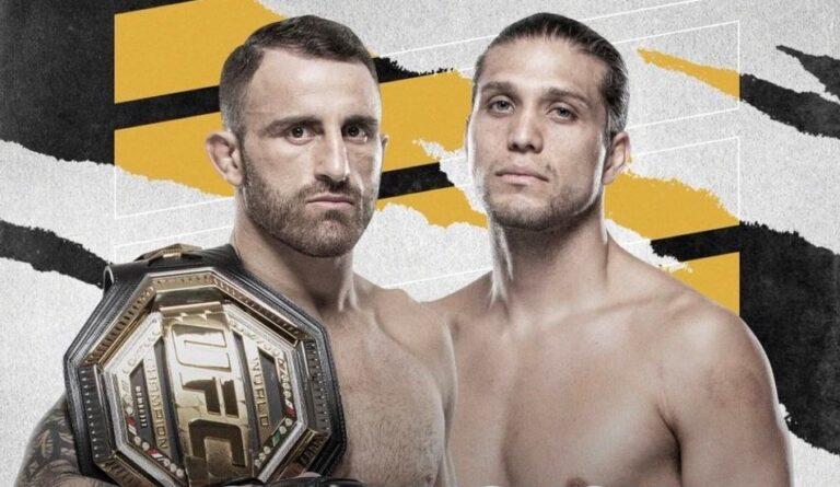 UFC 260: Александр Волкановски - Брайан Ортега