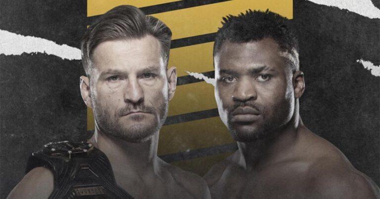 UFC 260: Стипе Миочич - Фрэнсис Нганну