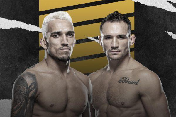 Чендлер - Оливейра UFC 262